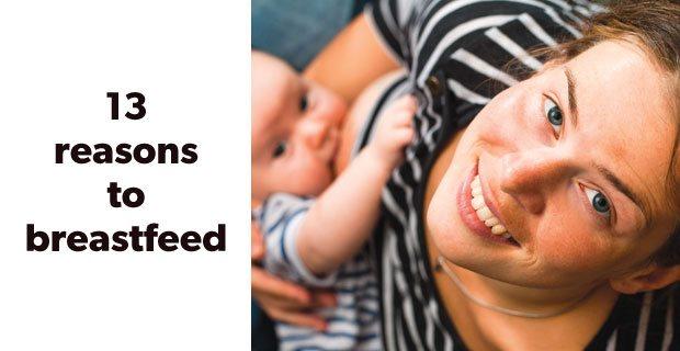 13 reasons to breastfeed