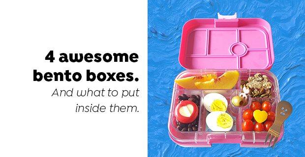 4 awesome bento boxes.