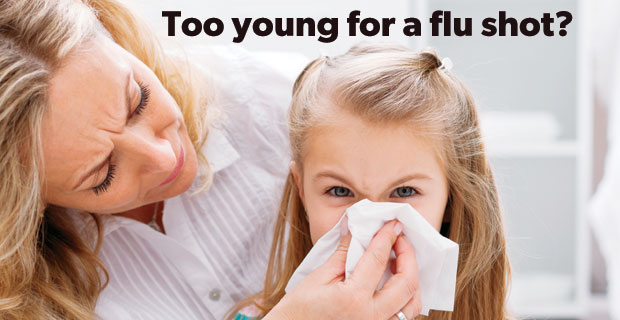 Is my two-year-old too young for a flu shot?