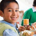 Web-savvy family: Device-free dinner