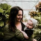 10 pretty floral baby names