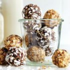 School-Safe Chocolate Snack Balls