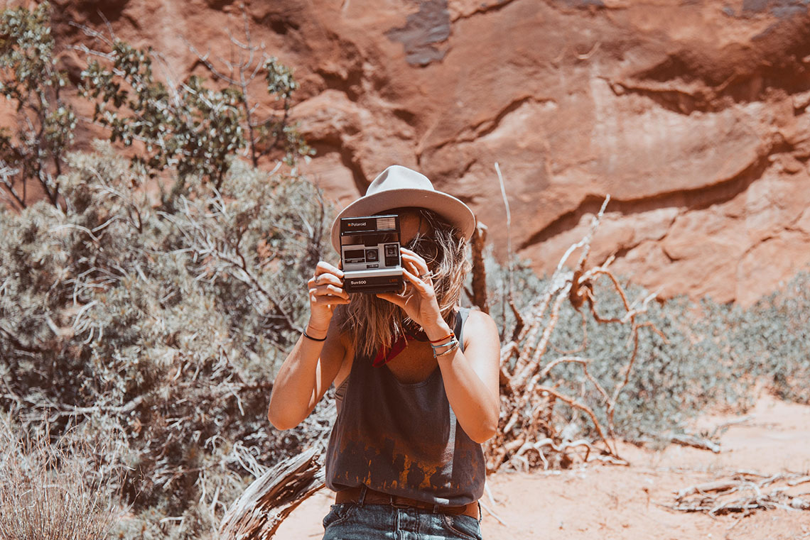 Polaroid Free People Moab Unplugged