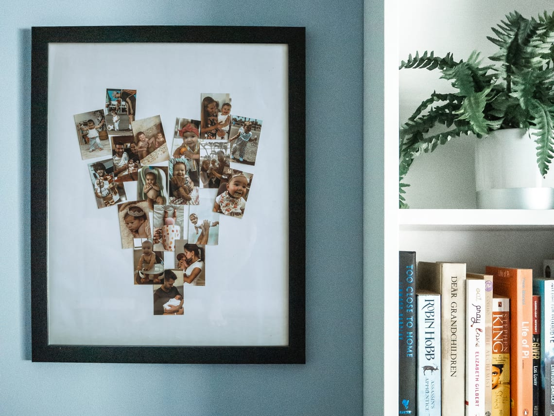 Mother's Day DIY Photo Collage