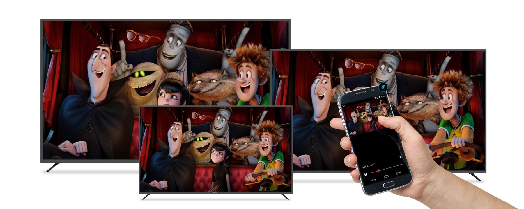 Polaroid 4K UHD LED TV with Google Cast