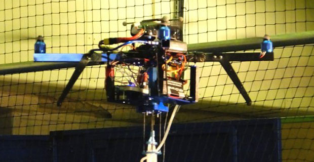Quadcopter Becomes a Flying 3D Printer