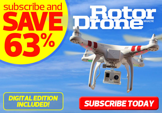 Susbcribe to RotorDrone Magazine