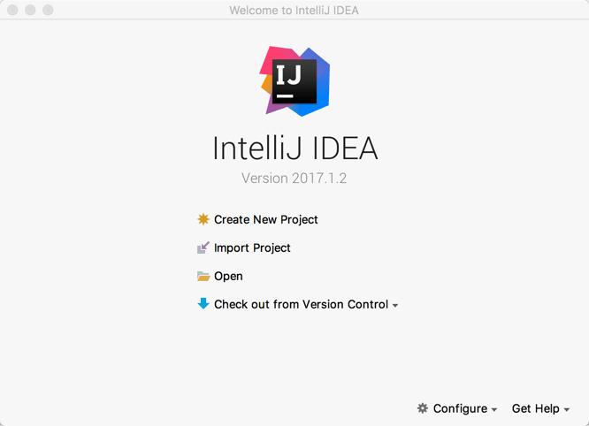 Creating the IntelliJ project