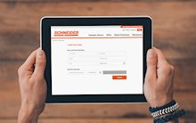 Easy Apply Feature at Schneider Career Fair Booth