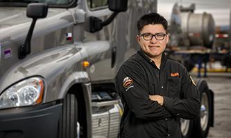 Angel Plascencia, Tanker Owner-Operator