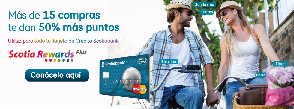 Tarjeta de crédito Scotia Travel Clásica