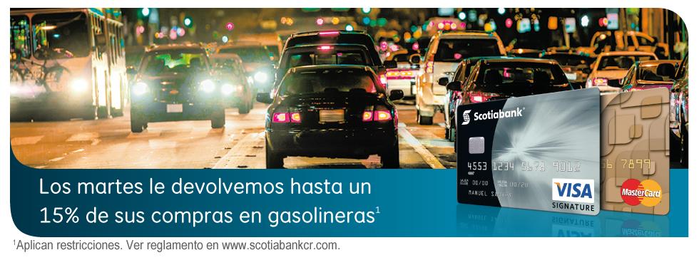 Gasolina los martes