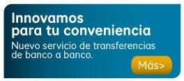 Transferencias de banco a banco