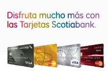 Tarjetas de credito Scotiabank