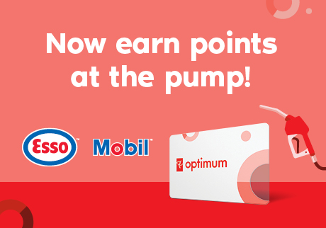 Now earn points at the pump!