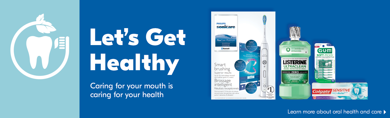 Let's get healthy. Caring for your mouth is caring for your health