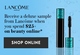 Get a Monsieur Big Waterproof Mascara deluxe sample when you spend $25+ on beauty online, while quantities last.