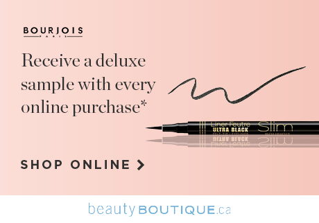 Get a full size eyeliner from Bourjois when you shop your beauty faves online, while quantities last.