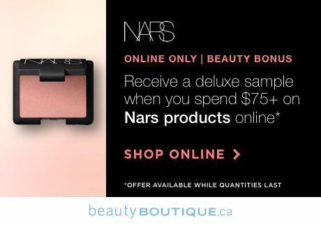 Get a mini Orgasm Blush when you spend $75+ on Nars products online, while quantities last.