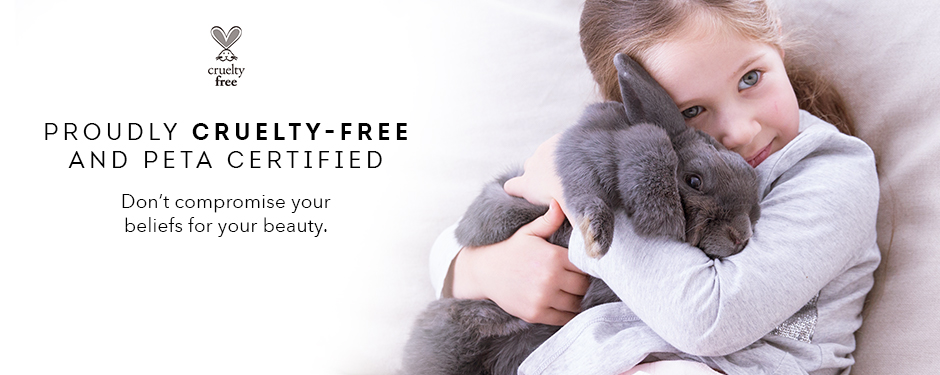 We are proudly 100% cruelty-free and PETA certified. Nude by Nature does not support testing in animals of any kind.