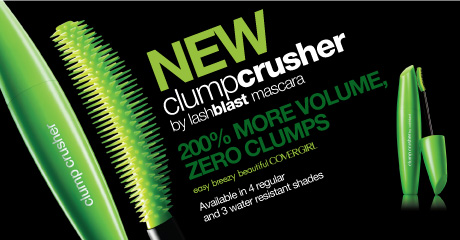 NEW clumpcrusher by lashblast mascara