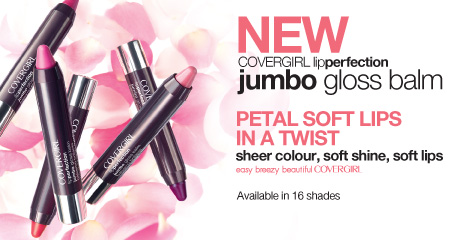 NEW COVERGIRL lipperfection jumbo gloss balm