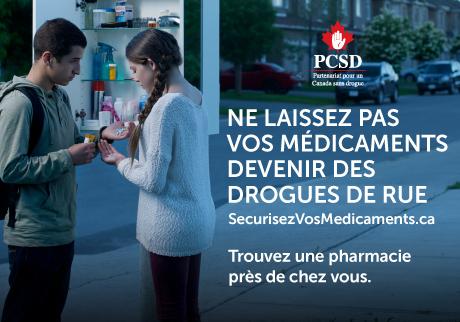 Retournez les médicaments inutilisés à notre pharmacie