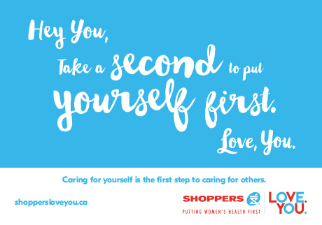 Shoppers LOVE. YOU.