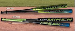 Source For Sports   Miken Freak Black Bat