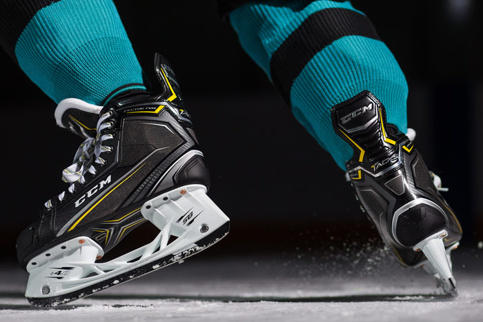 The Best Value In Hockey Skates Starts With The CCM Tacks Vector Pro Skates Only At Source For Sports.