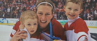Olympic Hockey Gold Medalist, Becky Kellar