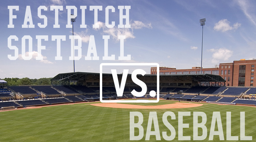 New To Baseball | Fastpitch Softball VS. Baseball