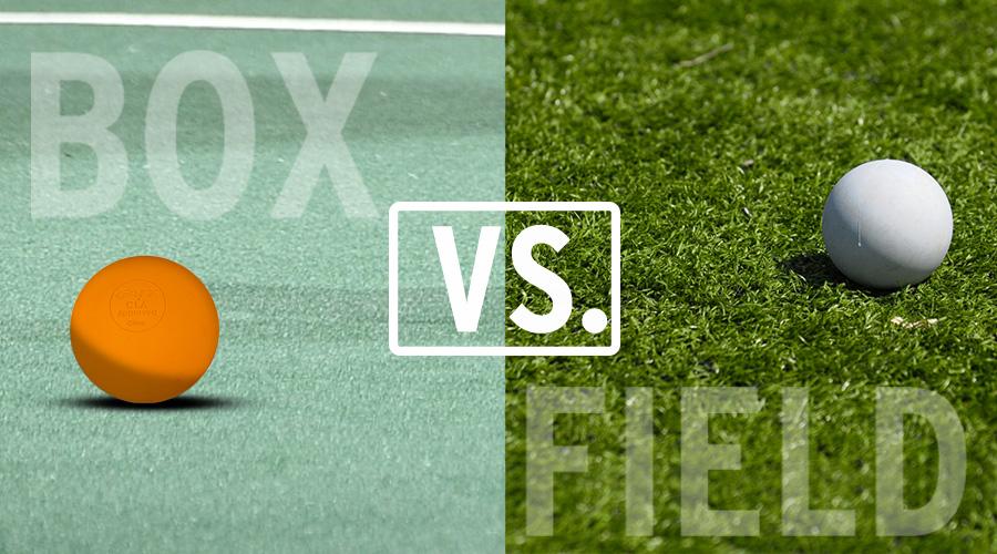 New To Lacrosse | Box Lacrosse VS. Field Lacrosse