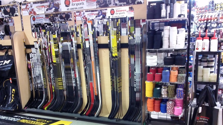 CCM & Bauer Hockey Sticks