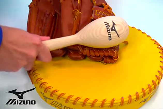 Break-in your Baseball Glove with the Mizuno Glove Steamer | Source For Sports