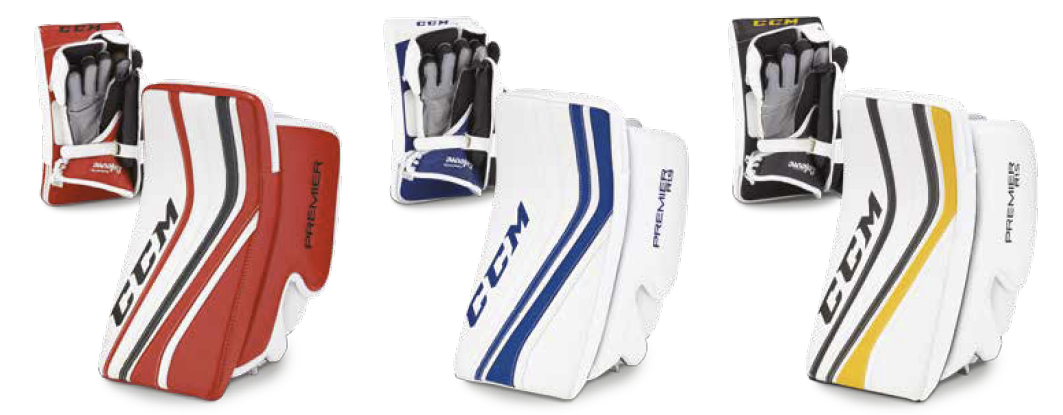 CCM Premier 2016 Goalie Blockers