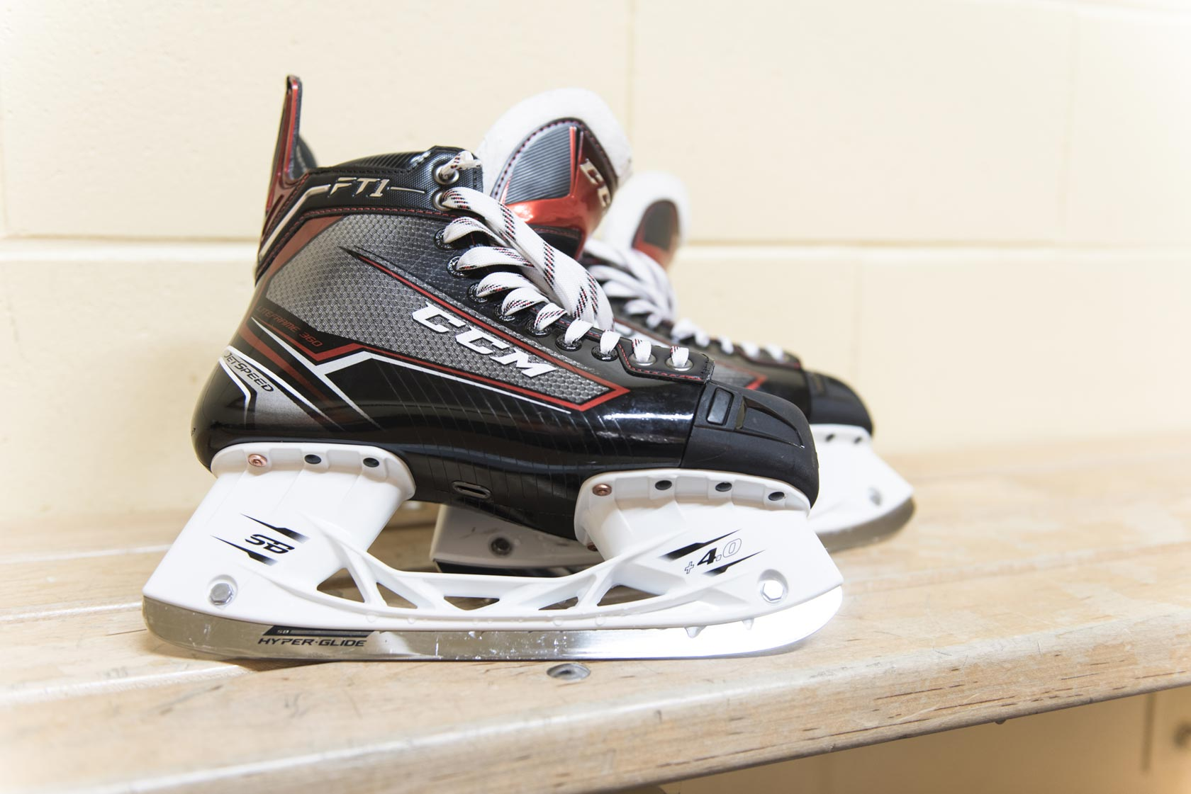 CCM JetSpeed FT1 Hockey Skates SpeedBlade HyperGlide runner | Source For Sports