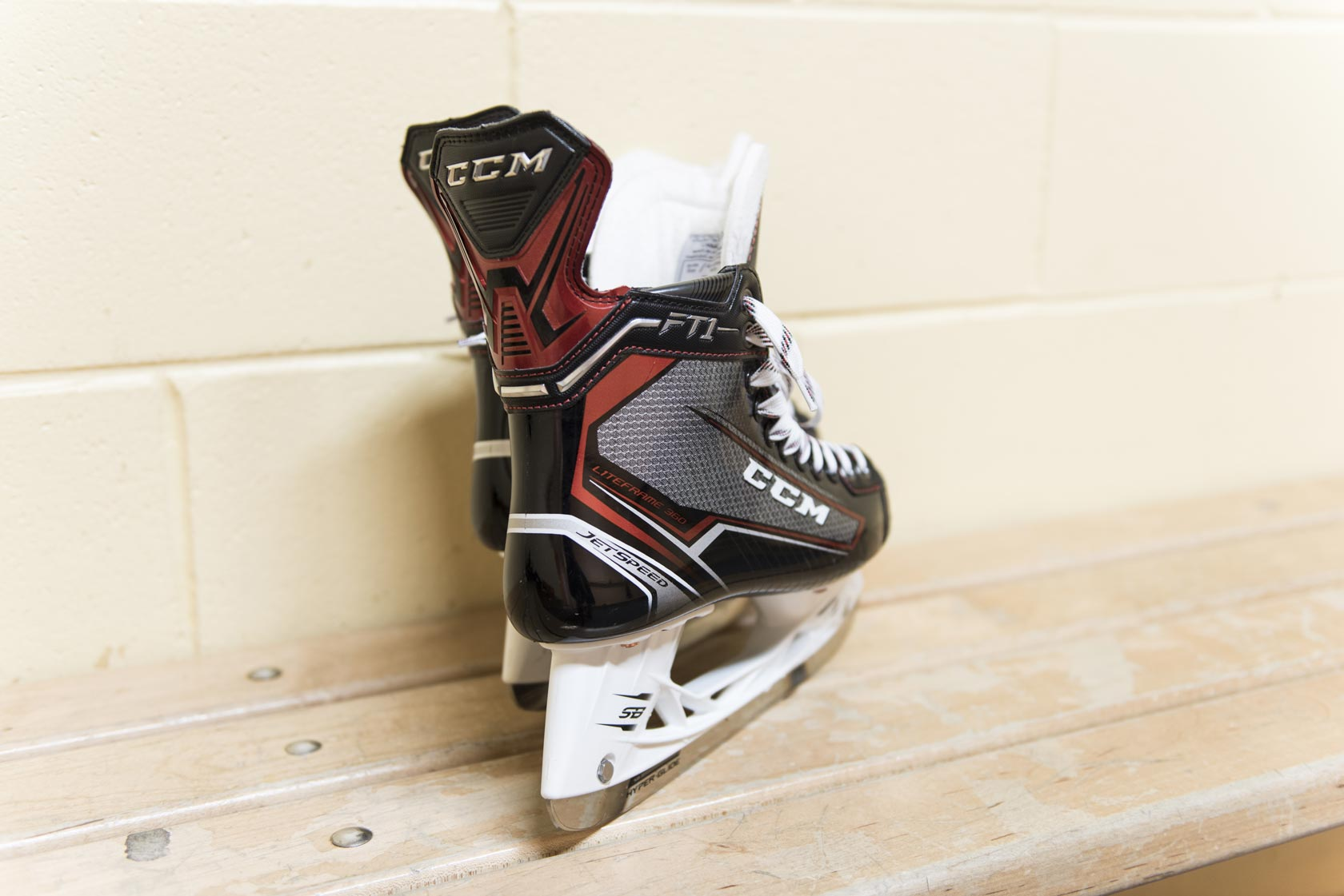 CCM JetSpeed FT1 Hockey Skates 360 degree tapered fit | Source For Sports