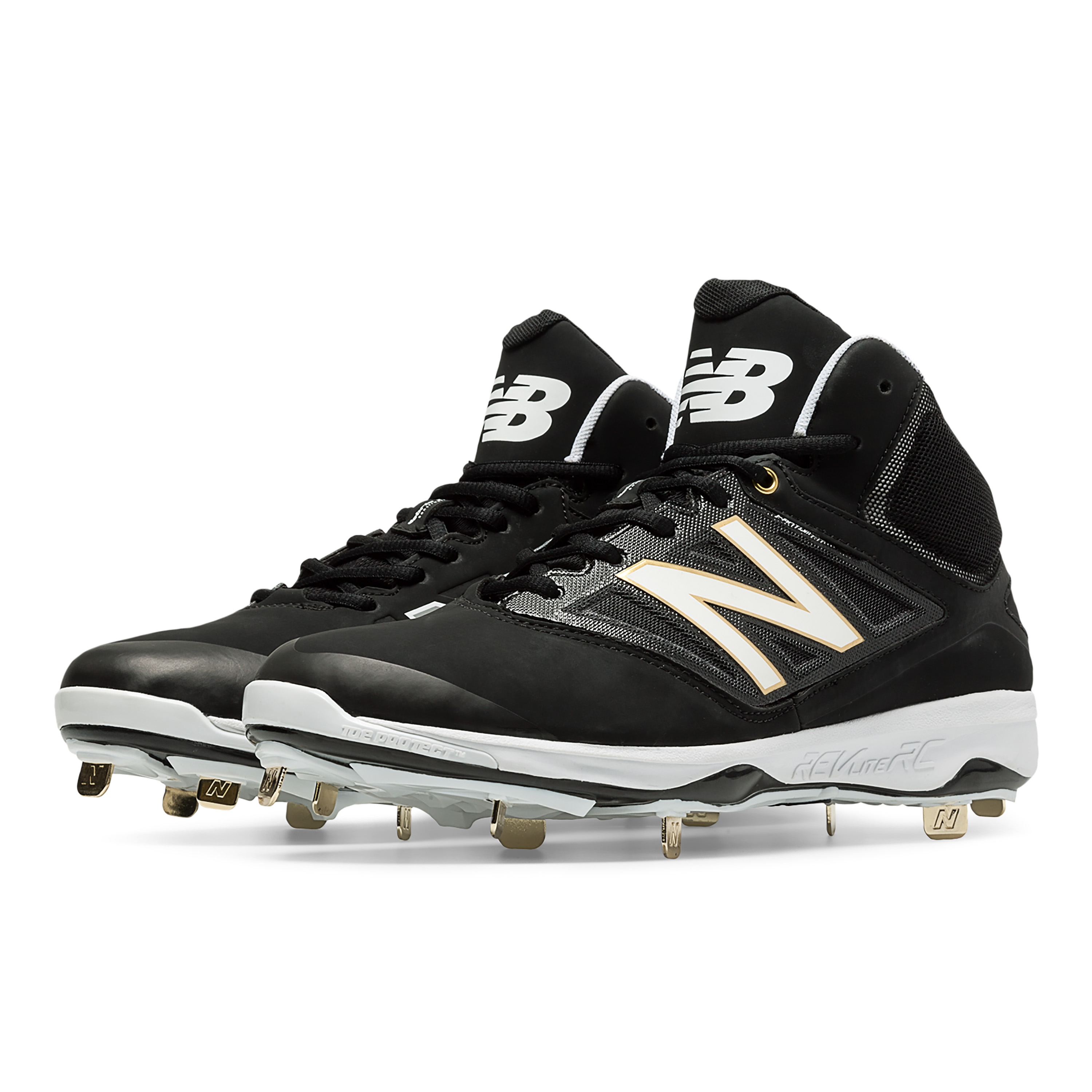 New Balance 4040v3 Mid-Cut Metal Men's Cleat | Source For Sports
