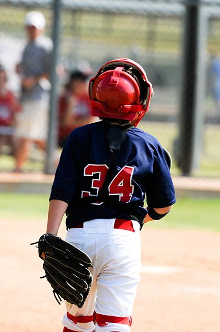 Fitting Baseball Catcher Equipment
