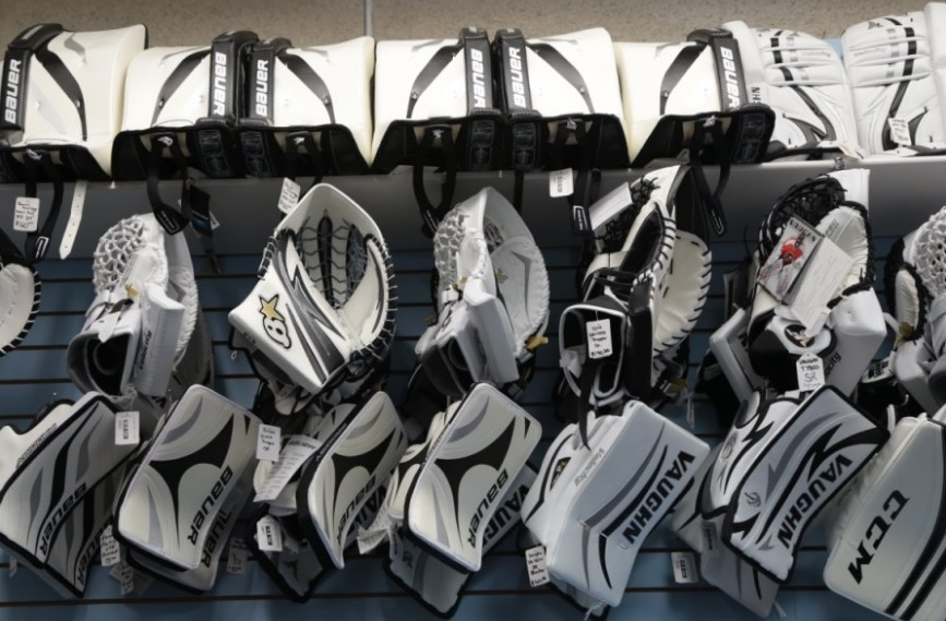 Ice Level Source For Sports CCM and Bauer Hockey Goalie