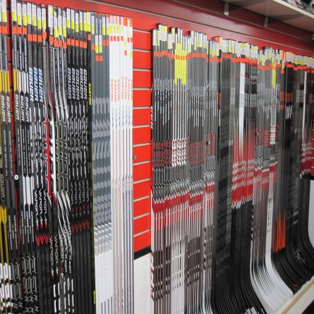 We carry a wide selection of Hockey Sticks at Supreme Source For Sports in Supreme Source For Sports, Kindersley, SK.