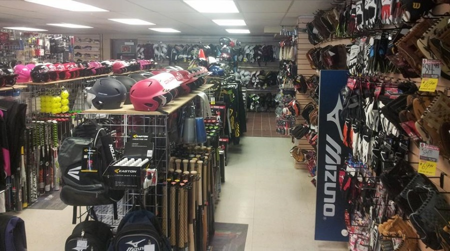 Baseball Bats and Gloves at Pembina Winnipeg