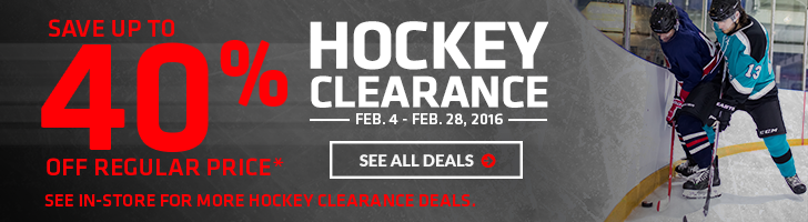 Save Up to 40% off Hockey Skates, Sticks & Gloves – Hockey Clearance Sale | Source For Sports