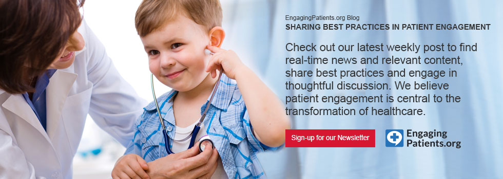 We believe patient engagement is central to the transformation of healthcare.