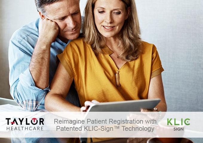 Exclusive 3-Step Patient Registration
