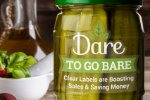 Dare to Go Bare: Clear Labels are Boosting Sales