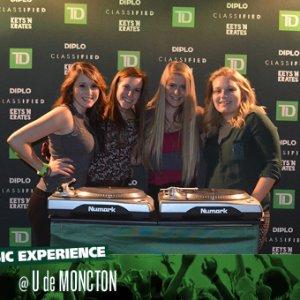 TD Music, TD Live Music, Université de Moncton, TD Music Experience 2013