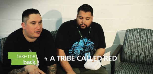 A Tribe Called Red, TD, TD live music, music, electronic, tribal, aboriginal, canada, canadian, interview, take me back, first nations, artists, art