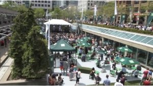 TD music café, Roy Thomson Hall Patio